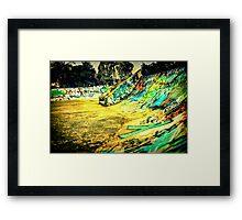 KTA.  Framed Print
