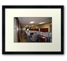In Office Framed Print