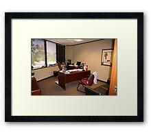 Monicas Office Framed Print