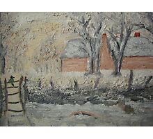 My Monet - The Magpie Photographic Print
