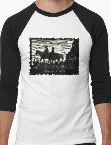 Happy Trails Men's Baseball ¾ T-Shirt