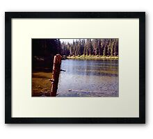 Kelly Lake Framed Print