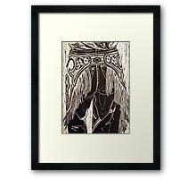 Cowgirl Hardware Framed Print