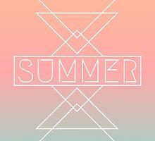 Geometric Summer Design by Iveta Angelova
