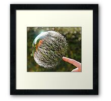 Bubble Rip, Storm Wave Framed Print