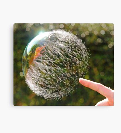 Bubble Rip, Storm Wave Canvas Print