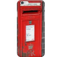 Post boxes iPhone Case/Skin
