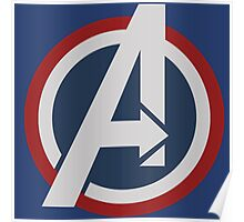 Avengers - Captain America Poster