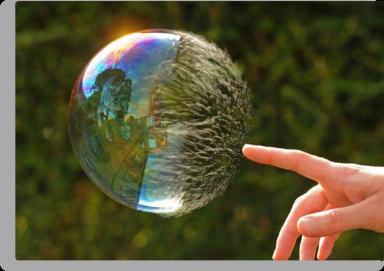 Half Gone Bubble by Richard Heeks