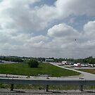 Kentucky airport by Bonnie Pelton