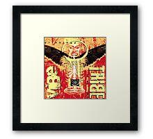 raven spirit Framed Print