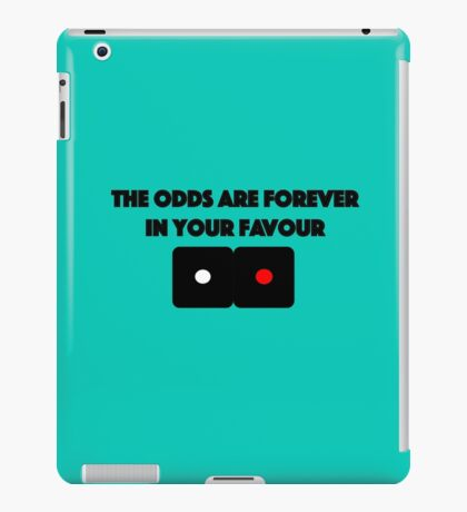 Hunger Games - The Odds are Forever in your Favour iPad Case/Skin