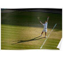 Andy Murray - Wimbledon 2009 Poster