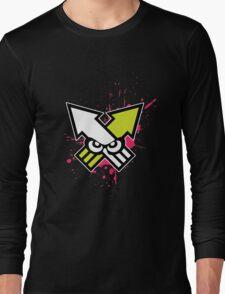 Splatoon - Turf War (Hot Pink Splat) Long Sleeve T-Shirt