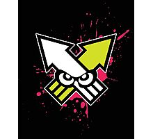Splatoon - Turf War (Hot Pink Splat) Photographic Print