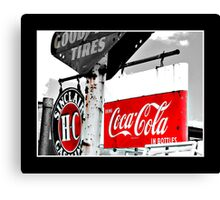 Coca Cola Sign Canvas Print