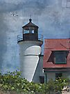 Point Betsie Lighthouse I by Shelly Harris