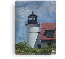 Point Betsie Lighthouse I Canvas Print