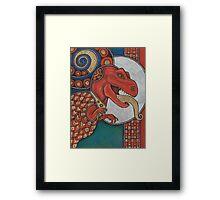 The Lizard King Framed Print