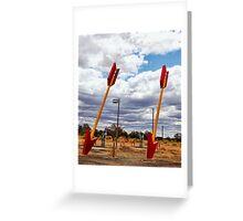 Route 66 -  Twin Arrows Greeting Card