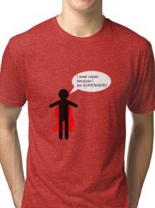 SUPERHERO Tri-blend T-Shirt