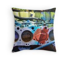 Psychedelic V-8 Throw Pillow