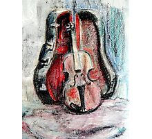 PADDY's Fiddle 1.0 Photographic Print