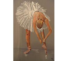 Ballet dancer, swan lake Photographic Print