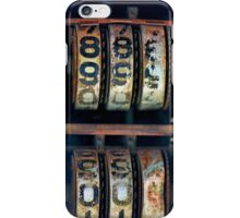 Gas Pump Numbers iPhone Case/Skin