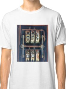 Gas Pump Numbers Classic T-Shirt
