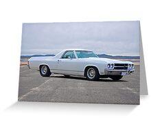 1970 Chevrolet El Camino Greeting Card