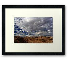Tumultuous Framed Print