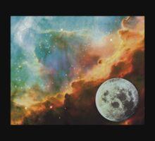 Starfield moon rising One Piece - Short Sleeve