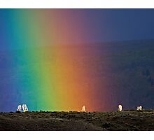 Rainbow Air, Ghost Trees Photographic Print