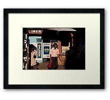Liberty Saloon, Kandy Framed Print