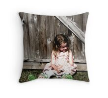 Lazy Day Darling Throw Pillow