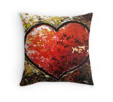 Chaos in Heart Throw Pillow