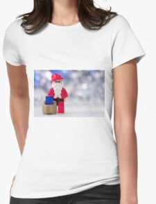 Lego Santa Claus Womens Fitted T-Shirt