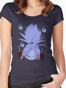 Amidamaru guardian ghost Women's Fitted Scoop T-Shirt