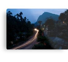Ella Rock from the guesthouse balcony Metal Print