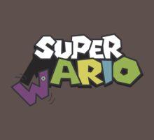 Wario Vs Super Mario Baby Tee