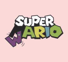 Wario Vs Super Mario Kids Tee
