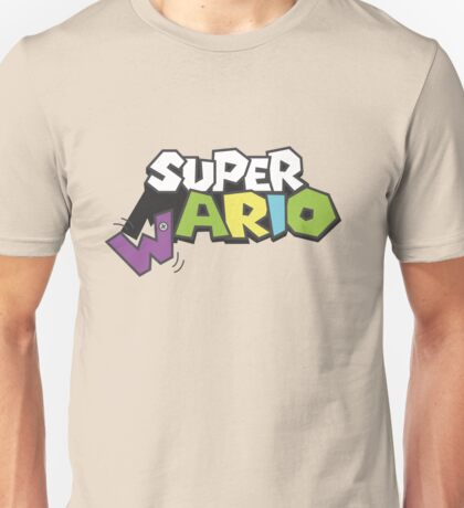 Wario Vs Super Mario Unisex T-Shirt