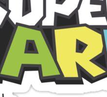 Wario Vs Super Mario Sticker