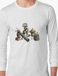 Machinarium's Jazz Band Long Sleeve T-Shirt