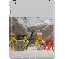 Inventing the wheel - Lego style iPad Case/Skin