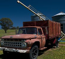 Red truck at Ladysmith by Syd Winer