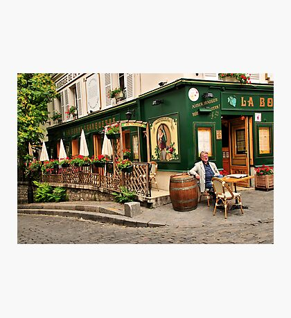 Parisian Restaurant 2 Photographic Print