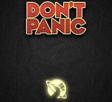 Don't Panic! (iPhone) by brentwards