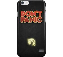 Don't Panic! (iPhone) iPhone Case/Skin